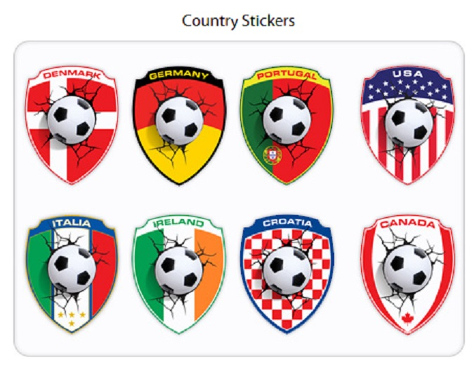 Country Stickers