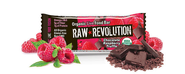 Snack Healthy With Raw Revolution Energy Bars