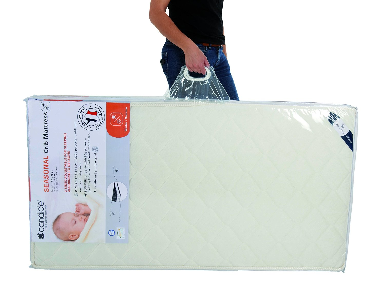 Sleep Like A Baby with Candide Baby Mattress Mom Blog Society