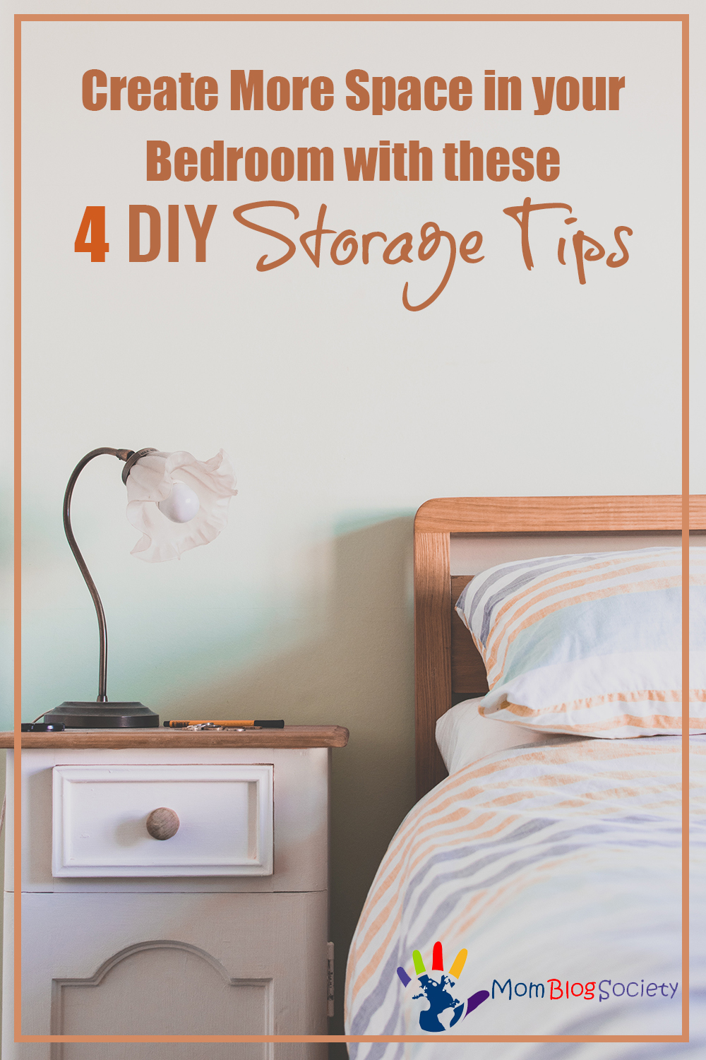 Create More Space In Your Bedroom With These 4 DIY Storage Tips   Mom Blog  Society