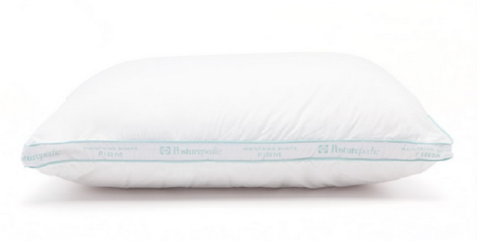 Sealy Posturepedic Maintains Shape Pillow with DACRON® Fiberfill
