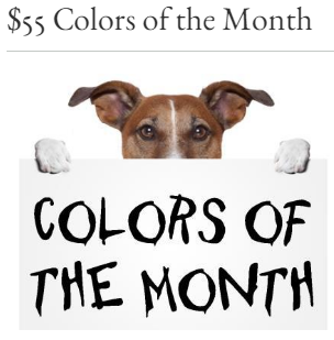 55 color of the month