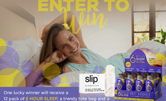 6 HOUR SLEEP Helps Your Body Get The Sleep It Needs!  #Giveaway