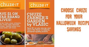 Choose Chuze for Your Halloween Recipes Savings