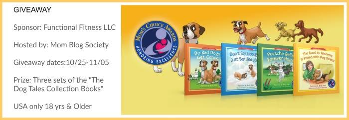 """Giveaway Three sets of the """"The Dog Tales Collection Books"""""""