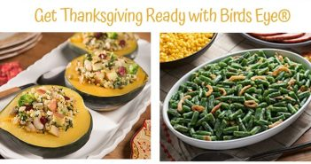 Get Thanksgiving Ready with Birdseye