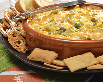 Beer Broccoli & Cheddar Dip from Birdseye
