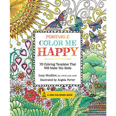 For My 19 Year Old Daughter We Picked Up Color Me Happy Adult Coloring Book She Loves These Books So When I Found One At Staples