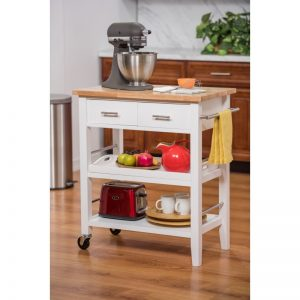 Start the New Year with Fun Organizational Carts in the Kitchen from Trinity