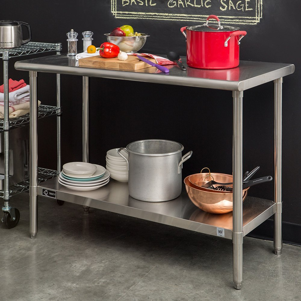 TRINITY EcoStorage™ Stainless Steel Table