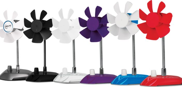 Hot In Here, Not Anymore With The ARCTIC – Breeze Color USB Table Fan