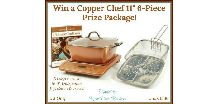 "Copper Chef 11"" 6-Piece Prize Package"