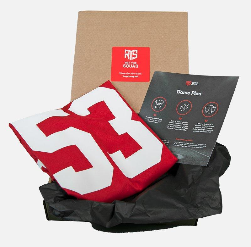 Officially Licensed Professional Sports Jerseys to Your Door with Rep the Squad