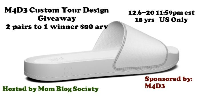 M4D3 Custom Your Design Endless Possibilities Giveaway