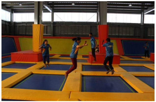 Beat the boring weekends with thrilling Altitude Trampoline Park!