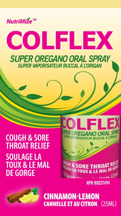 Colflex Super Oregano Oral Spray
