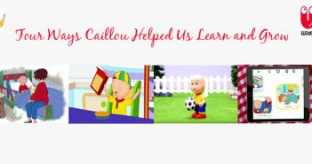 Four Ways Caillou Helped Us Learn and Grow