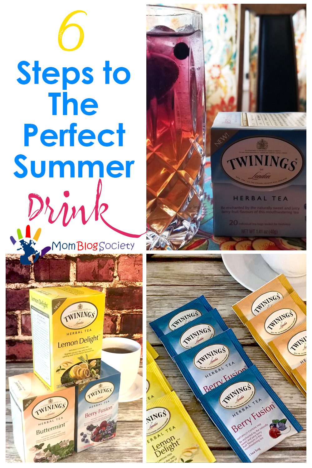 6 Steps to The Perfect Summer Drink